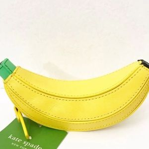 Hard to find ! Kate spade banana coin purse